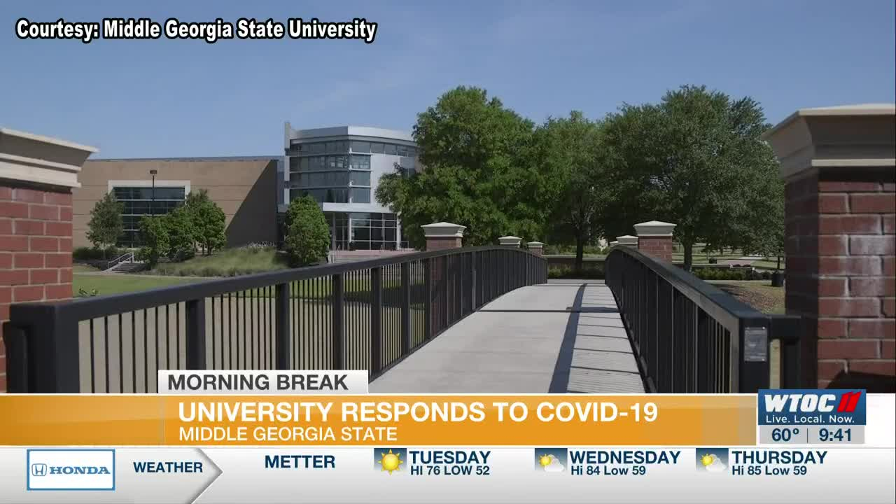 Middle Georgia State University Responds To Covid 19 Intended For Georgia State University 2021 Calendar