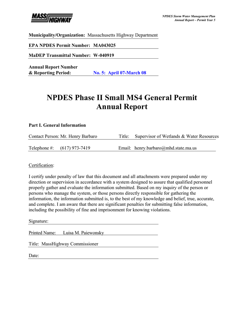 Municipality/organization: Epa Npdes Permit Number: Ma043025 in Billings School District 2 2021-20 Calendar
