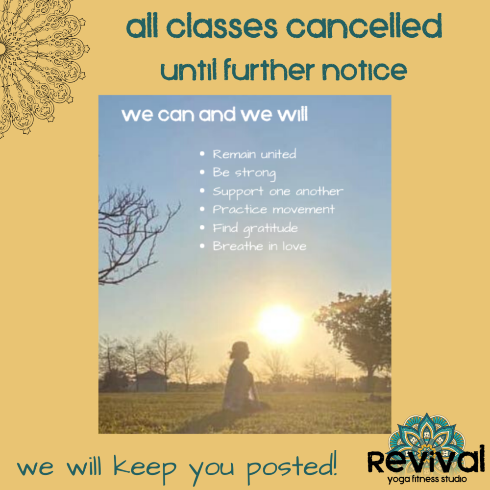 Naples Class Schedule — Revival Yoga Fitness Studio For Calendar For Naples Florida