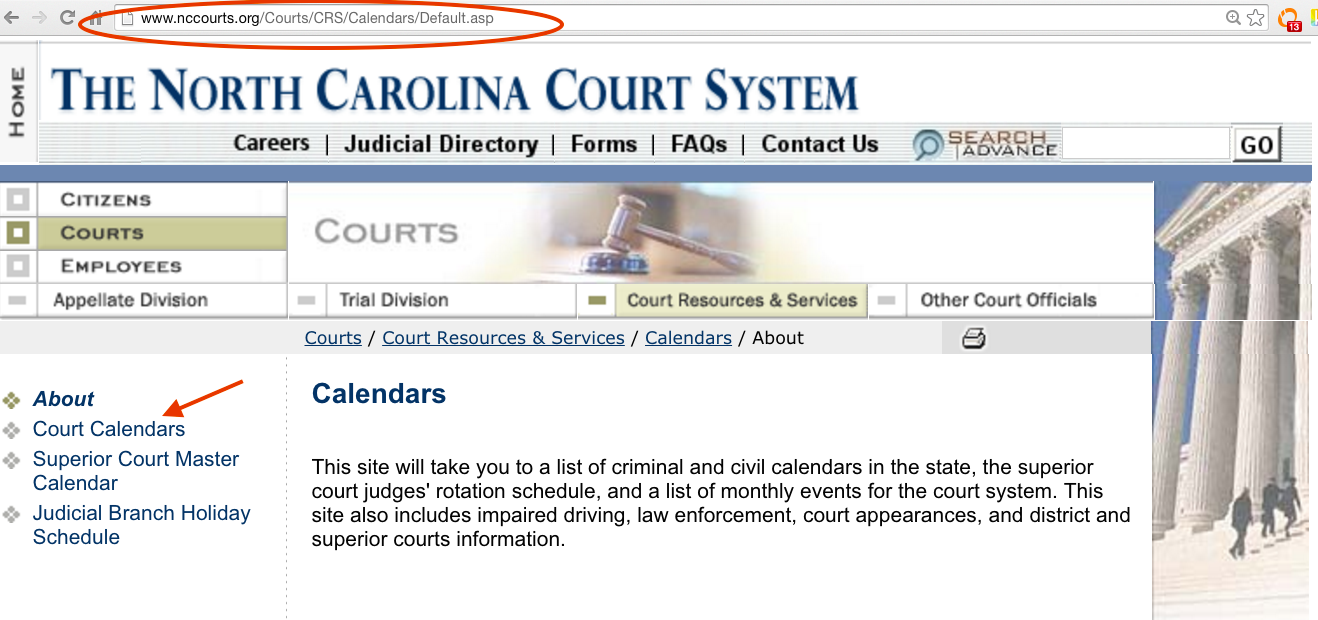 Nc Court Calendar – Optoev Pertaining To Nc Court Calendar Name