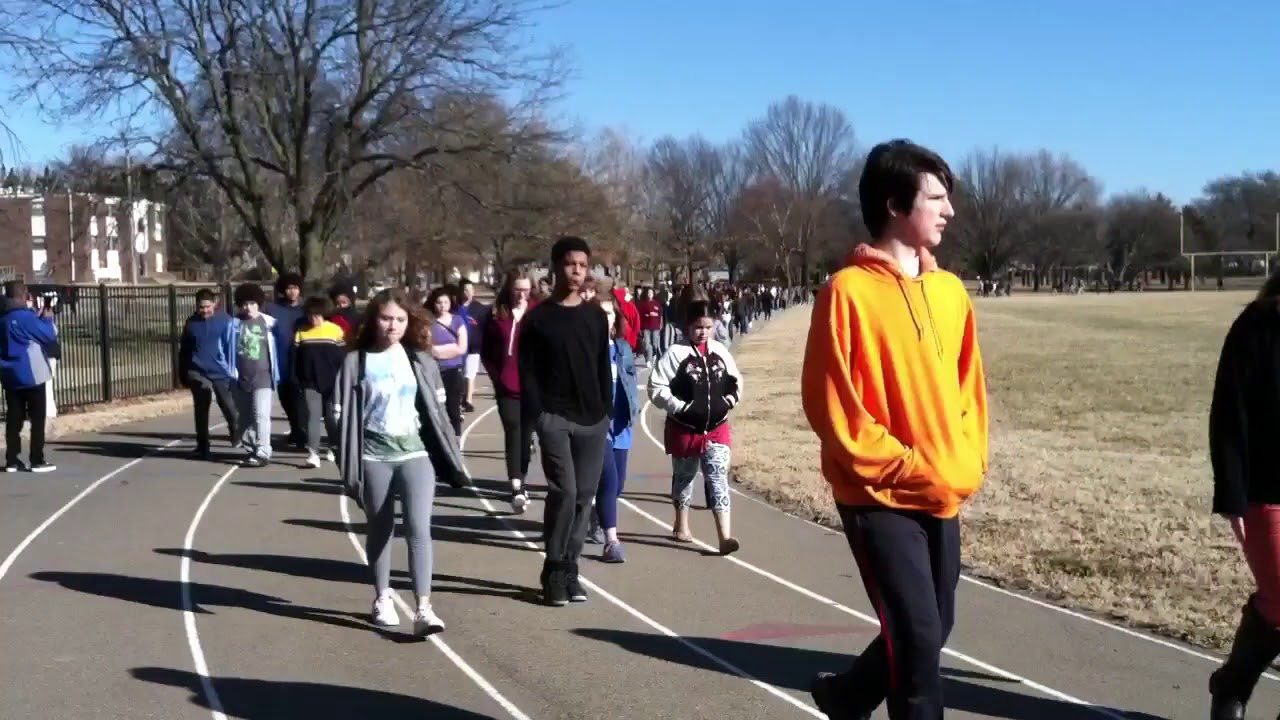 Never Again': Topeka Schools Participate In National Walkout Intended For Topeka West High School Calendar