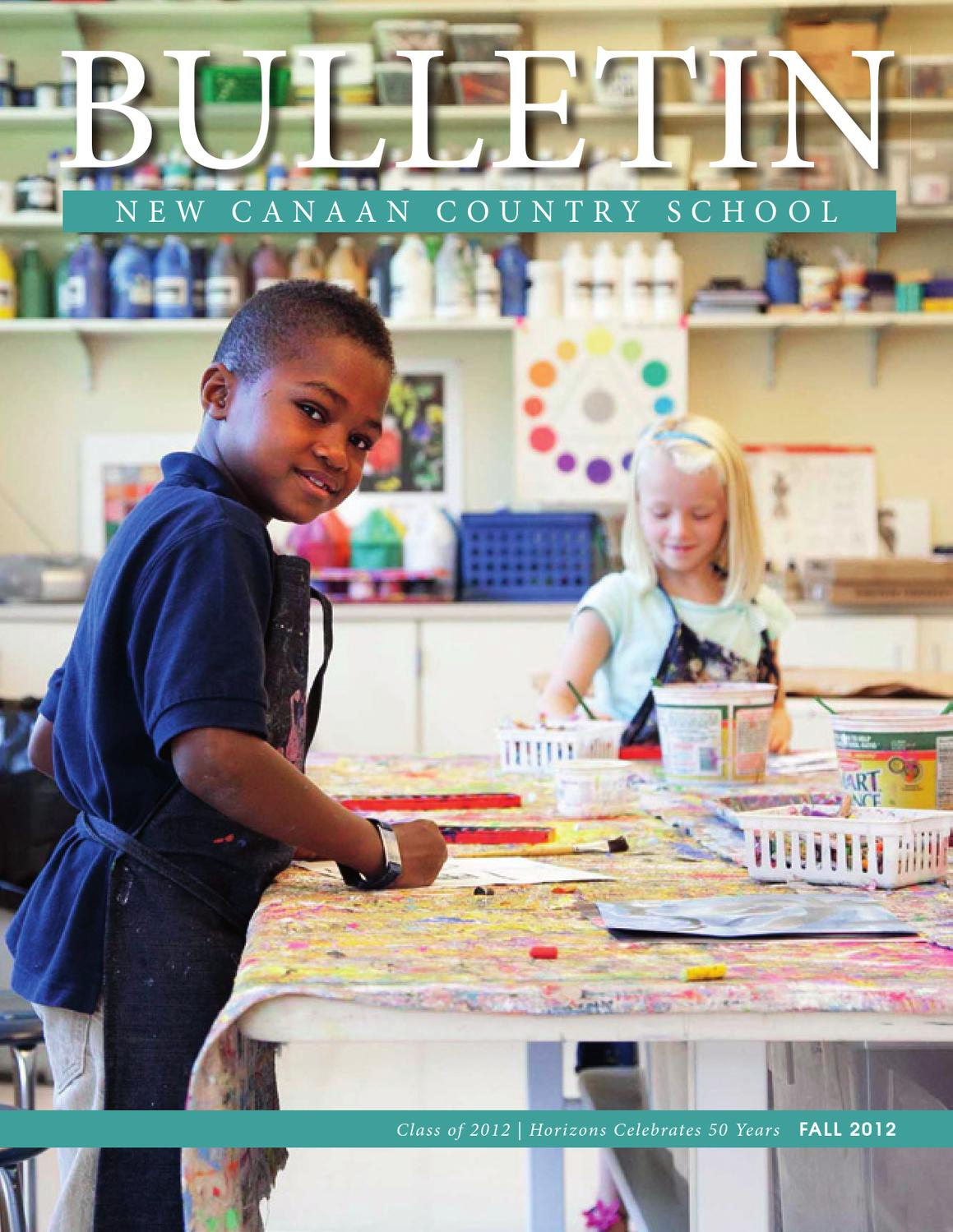 New Canaan Country School Bulletin Fall 2012New Canaan With New Canaan Country Day Calendar