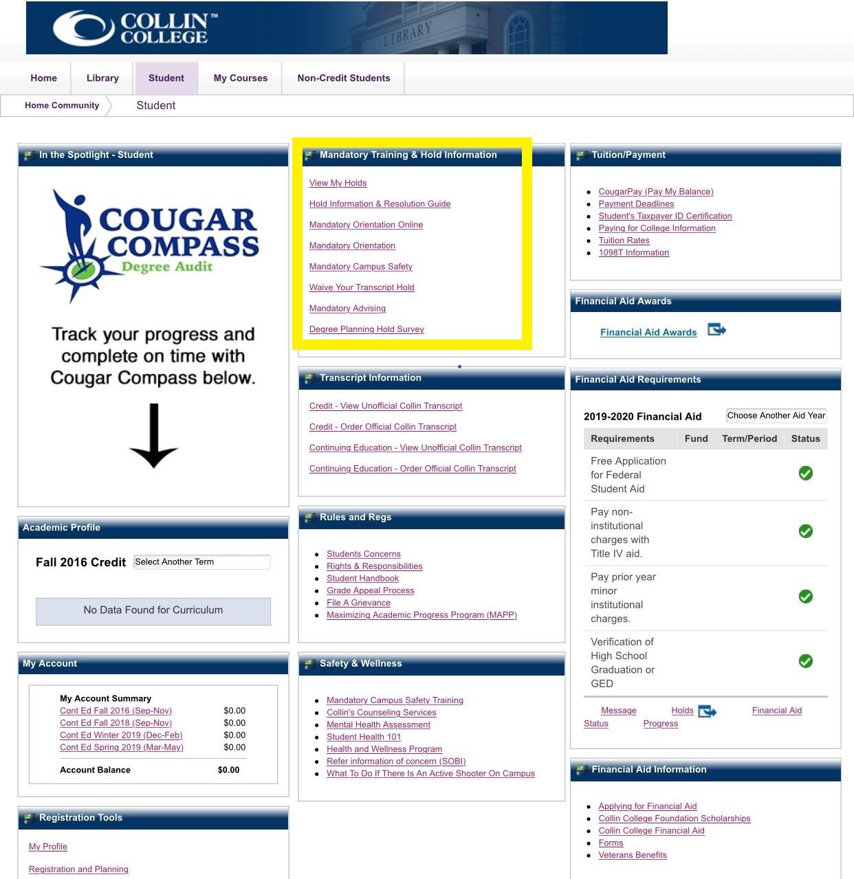 New Student Orientation Registration - Collin College In Collin County Community College District Calendar