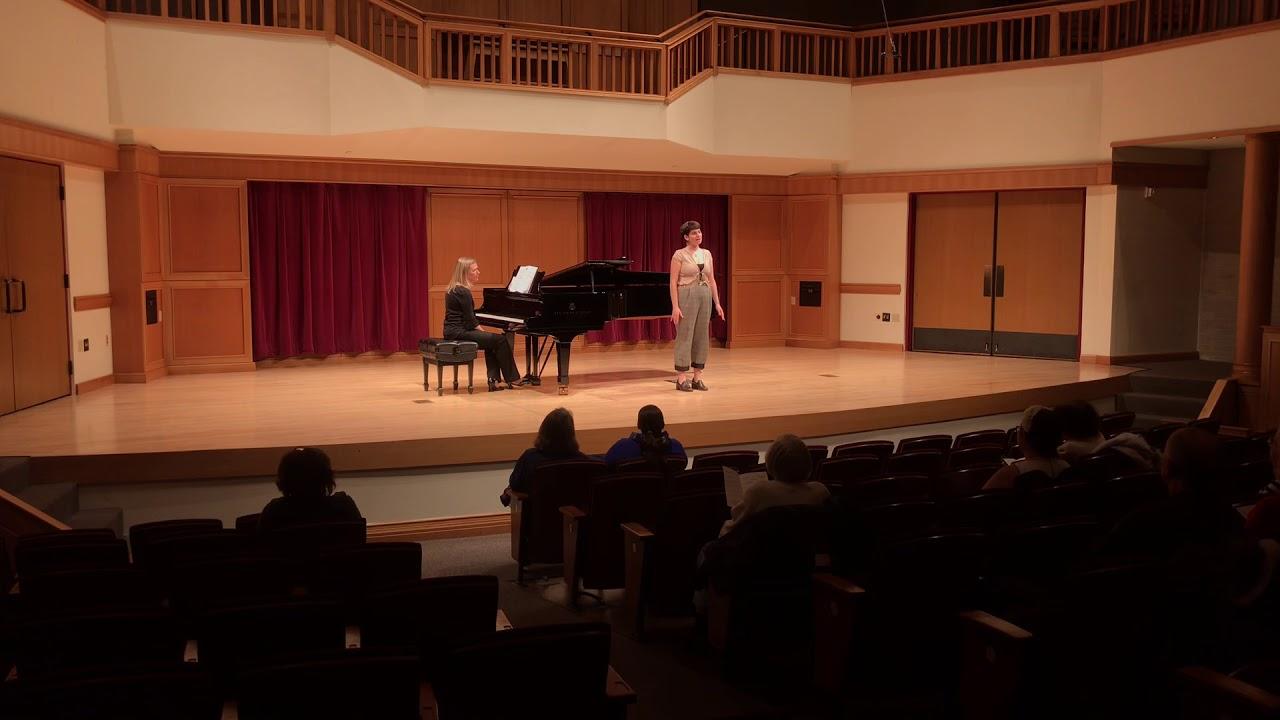 Noa Lipsky – Pur Dicesti, O Bocca Bella  Lamont School Of Music, University  Of Denver With Regard To Lamont School Of Music Schedule