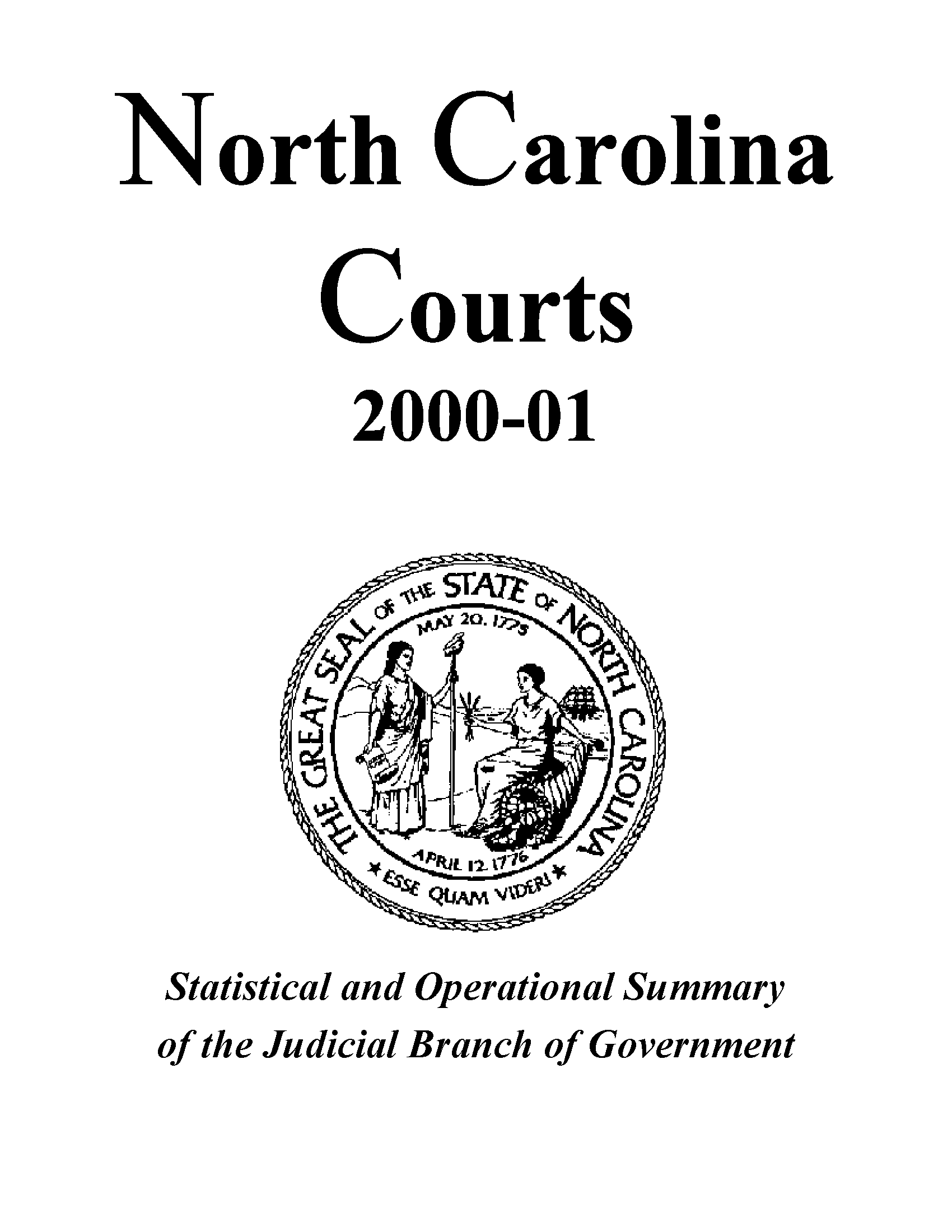 North Carolina Courts  : Statistical And Operational Throughout Onslow County Court Calendars