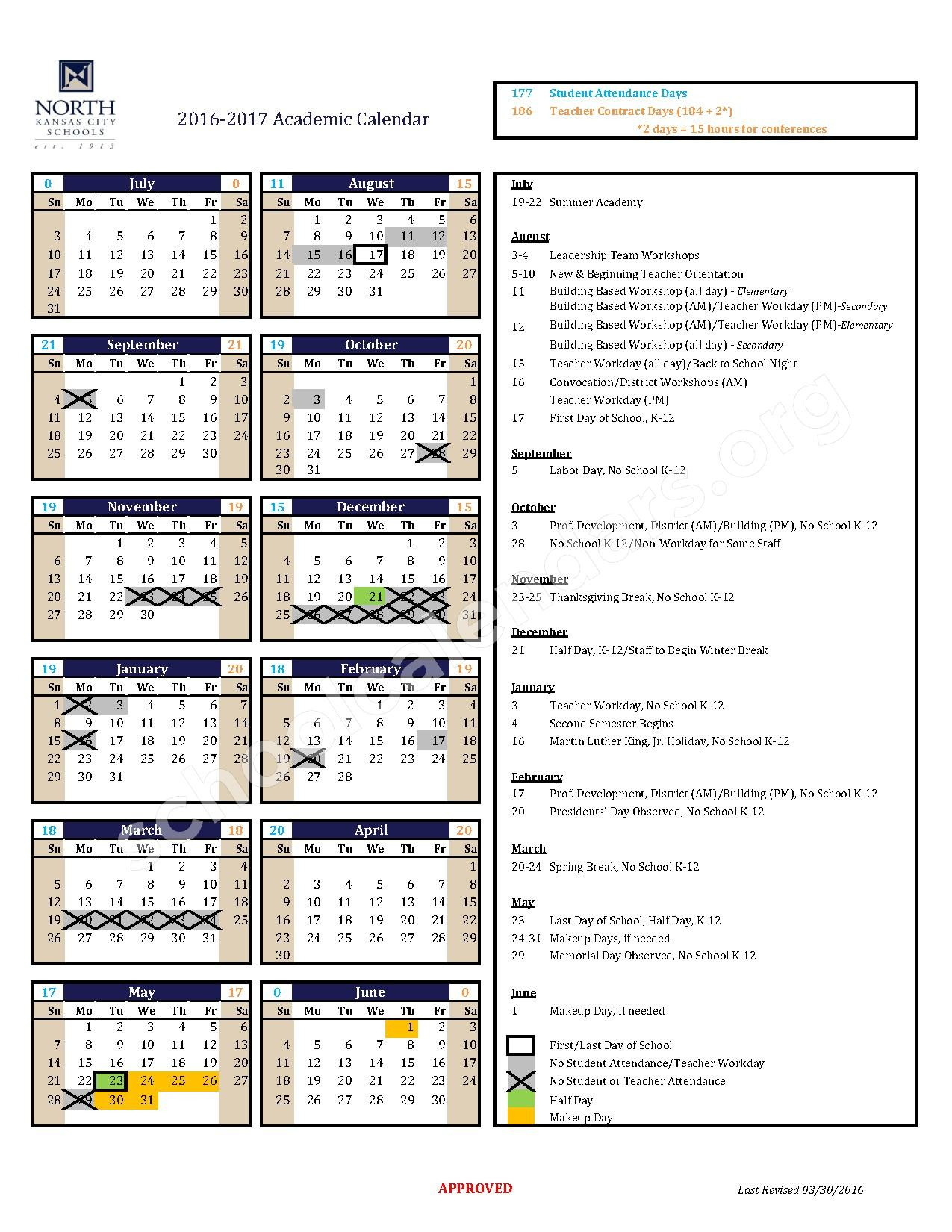 North Kansas City Schools Calendars – Kansas City, Mo in North Kansas City School District Calendar