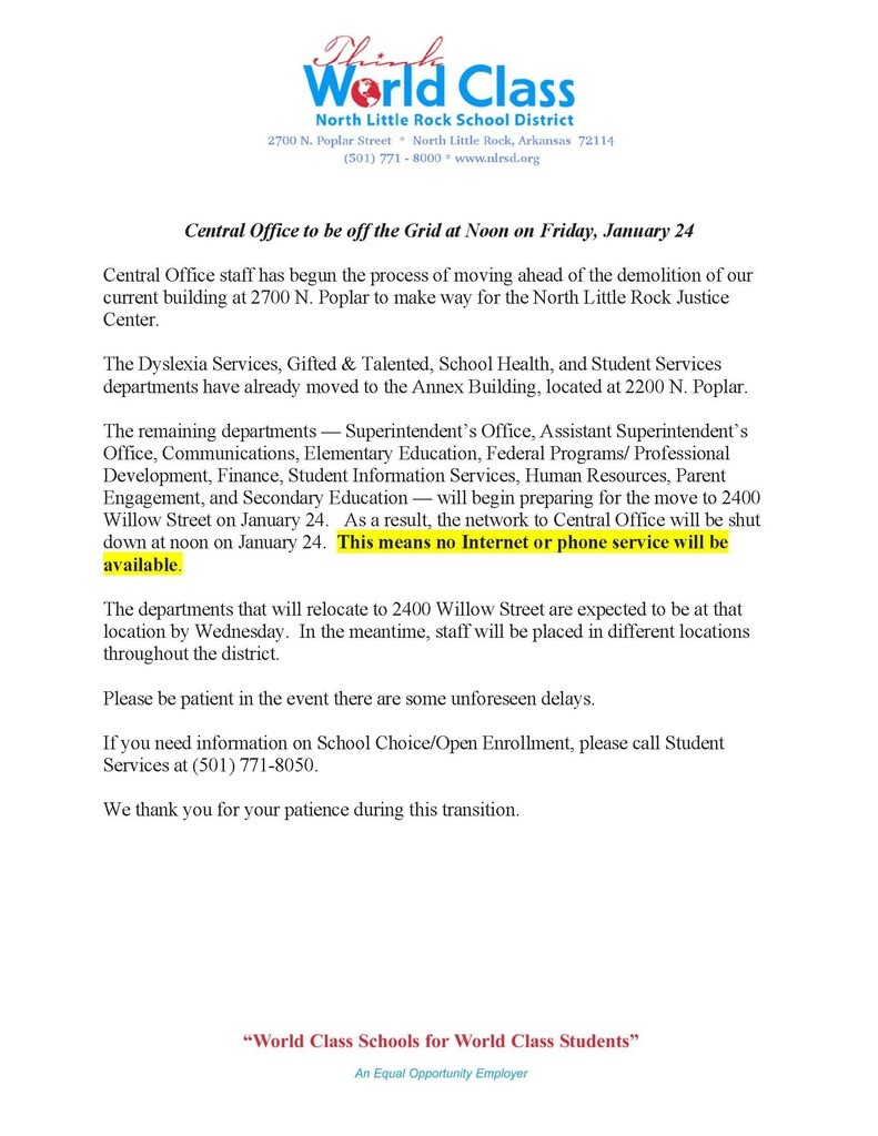 North Little Rock School District Pertaining To Greece Central School District Calendar January Holidays