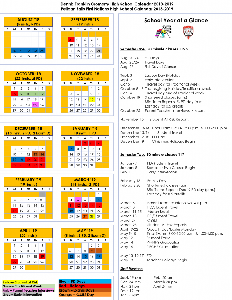 Northern Nishnawbe Education Council | Pelican Falls First With Post Falls High School Calendar