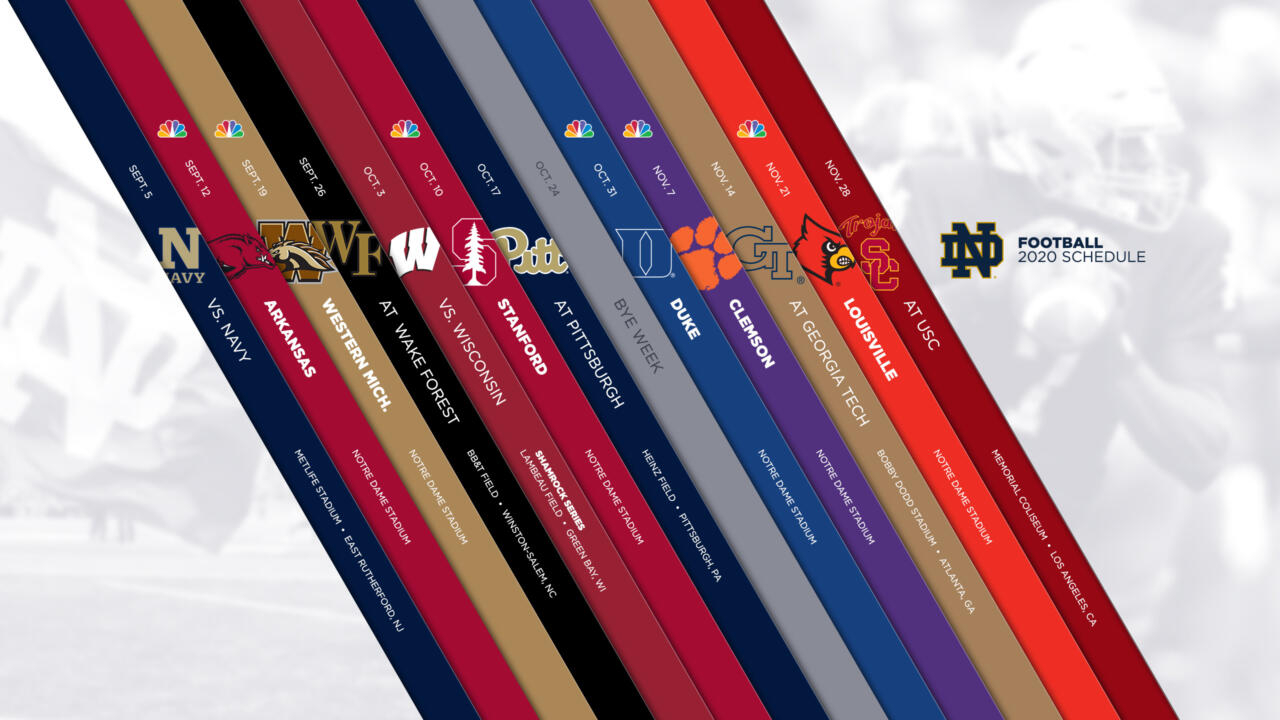 Notre Dame Athletics | The Fighting Irish | Football News Within Wake Tech Calendar 2021