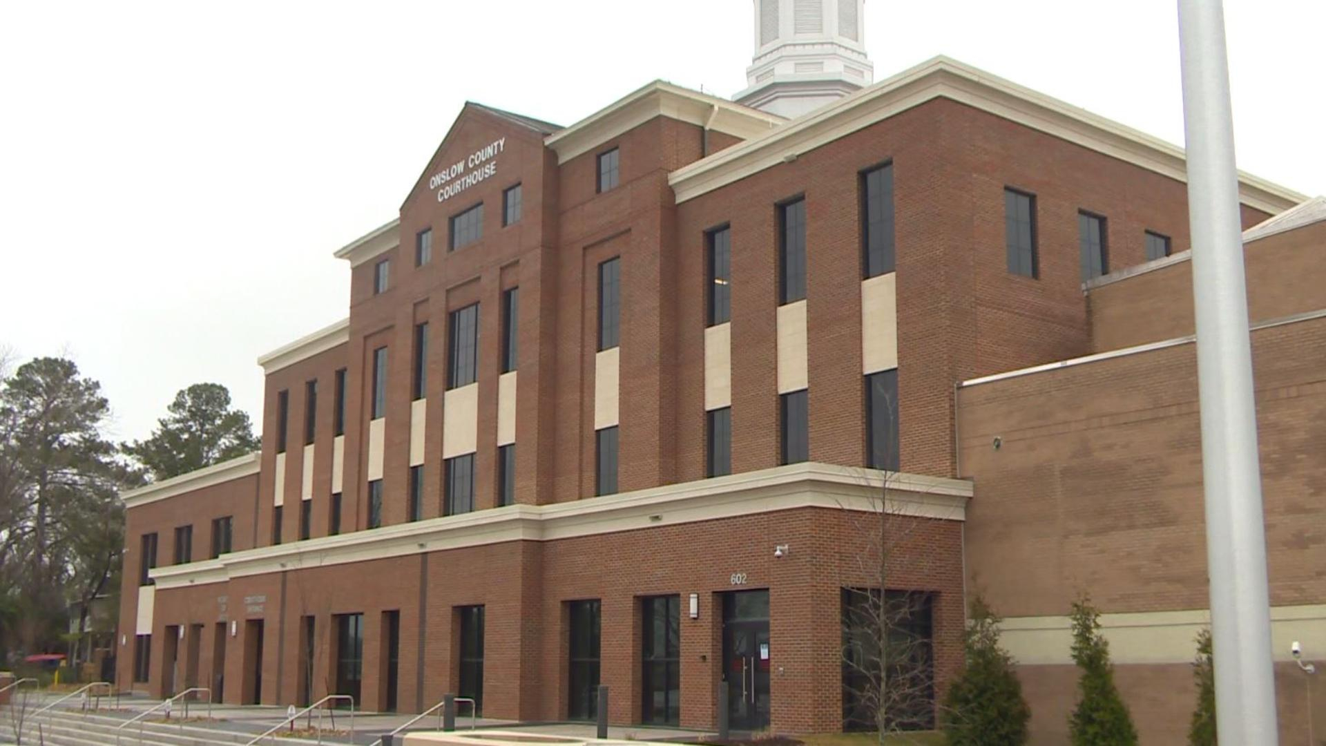 Onslow County Court System Scheduling Halted For Some Cases in Onslow County Court Schedule