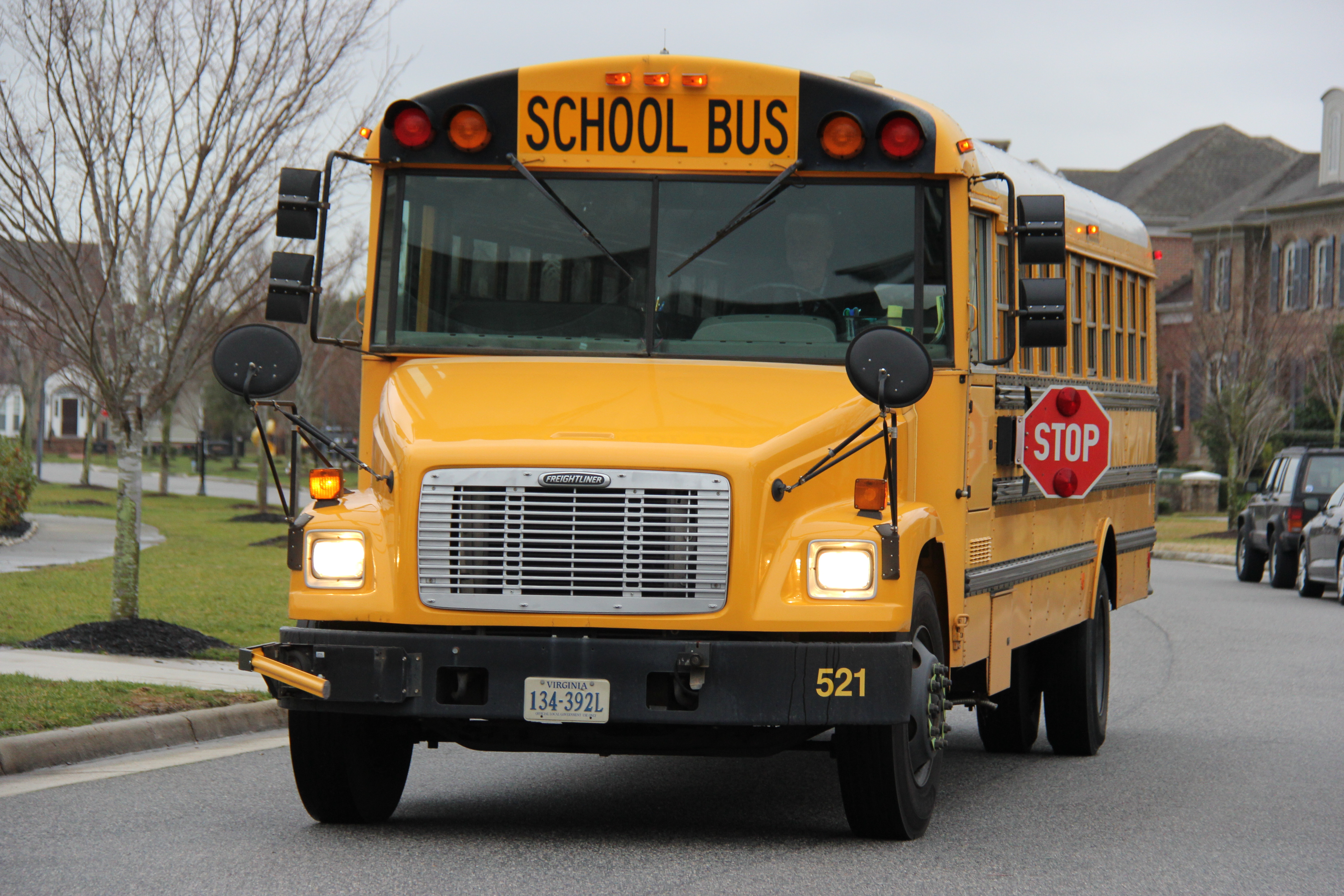 Optional Second Bus Run Available For High Schools During For Was School Out In Virginia Beach On January 27