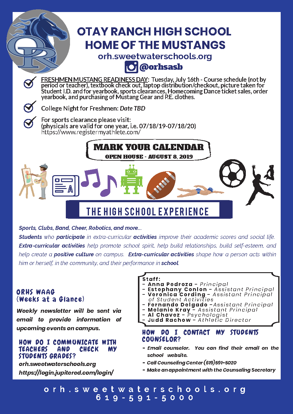Otay Ranch High School | Incoming Freshmen News For Calendar Otay Ranch High School