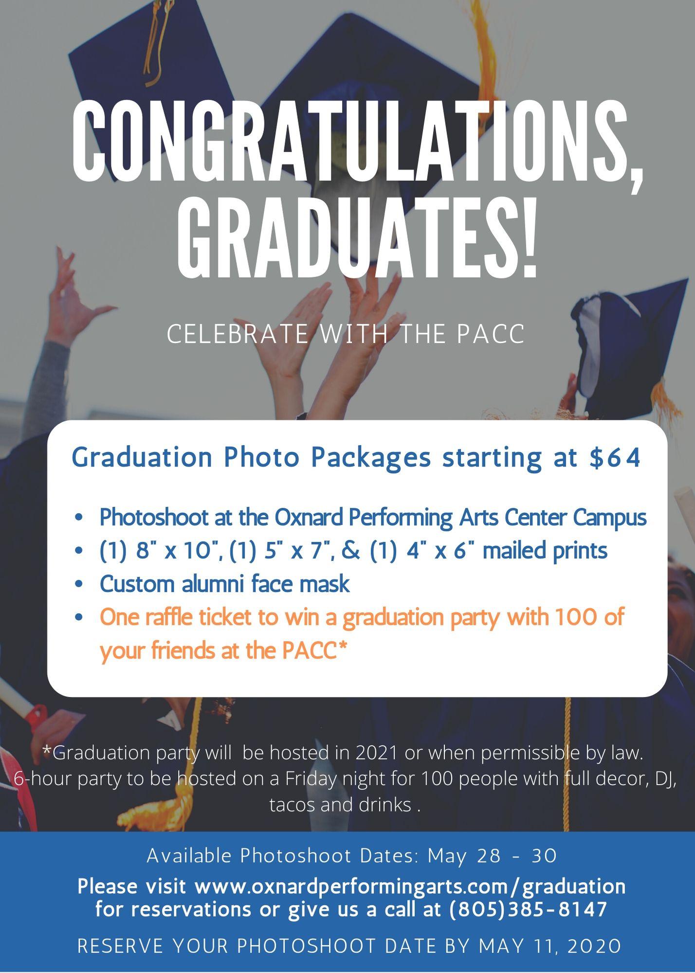 Oxnard Performing Arts Center To Celebrate Graduates This For Oxnard High School Calendar 2021
