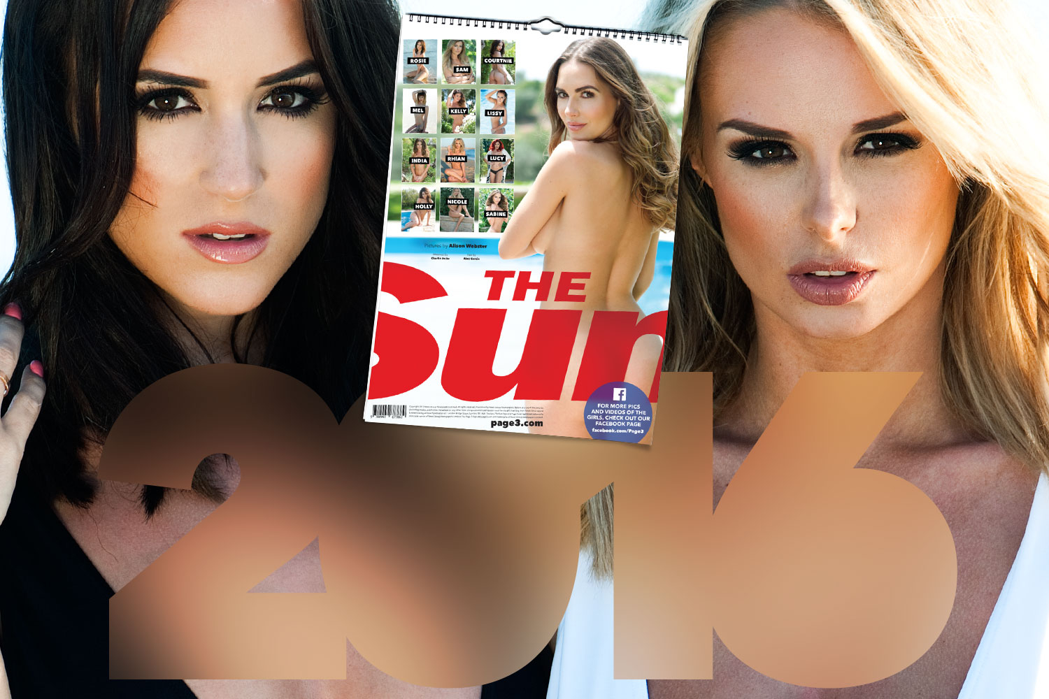 Page 3 Stunner As Sun Joins Waitrose Loyalty Scheme Throughout Sun Page 3 Calenders