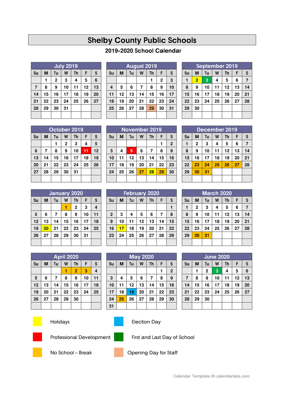 Painted Stone Elementary / Calendar Regarding Aiken County Schools Calendar