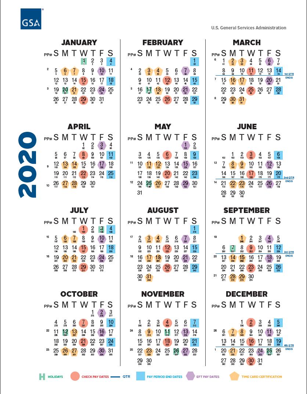 Payroll Calendar Opm 2020 | Payroll Calendar within Federal Payroll Calendar 2020