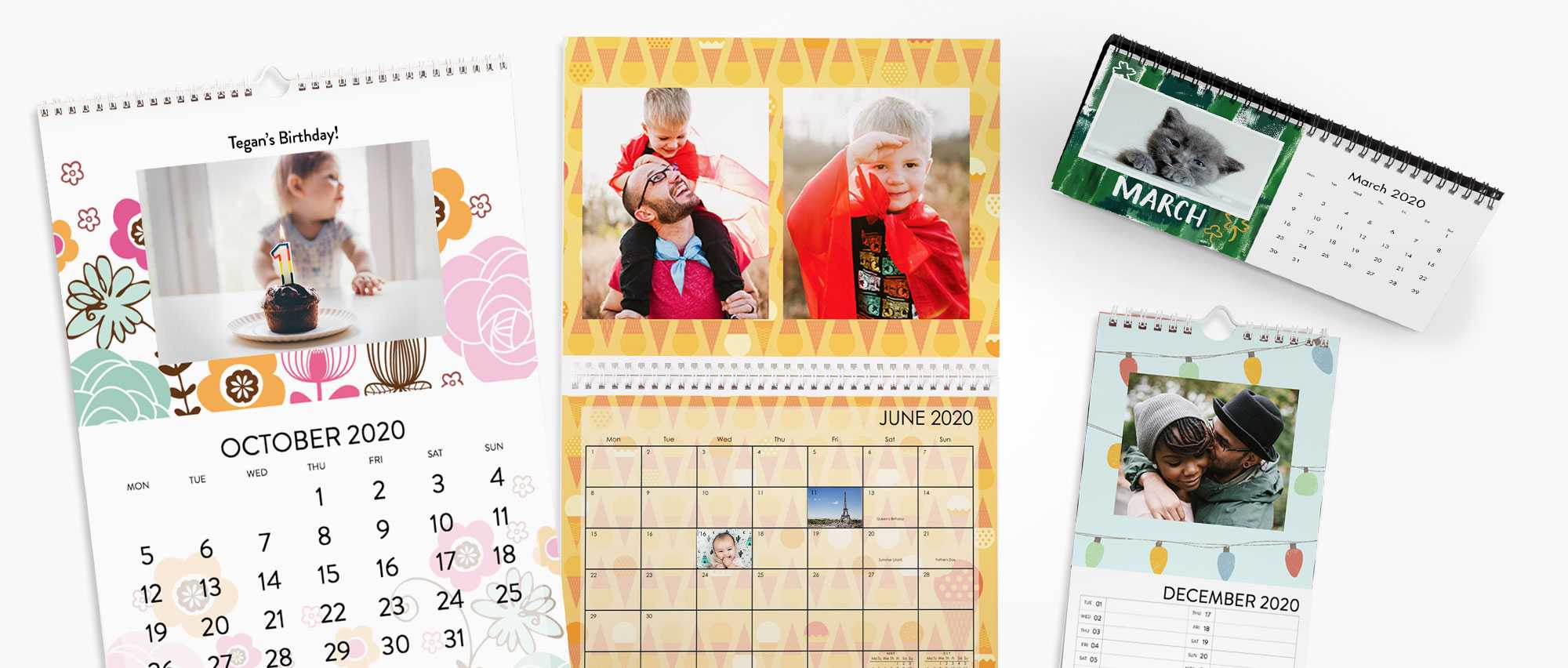 Personalised Calendars | Photo Calendars 2020 | Snapfish Uk For Single Page 1999 Calendar