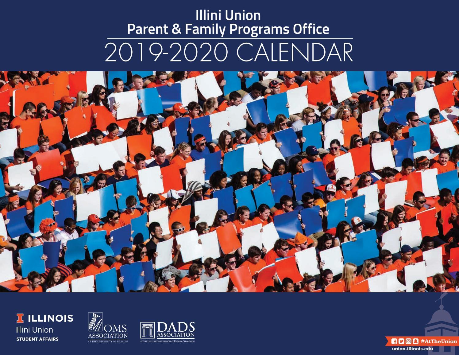 Pfpo Calendar 2019 2020Illini Union – Issuu Throughout University Of Akron Spring 2020 Calendar