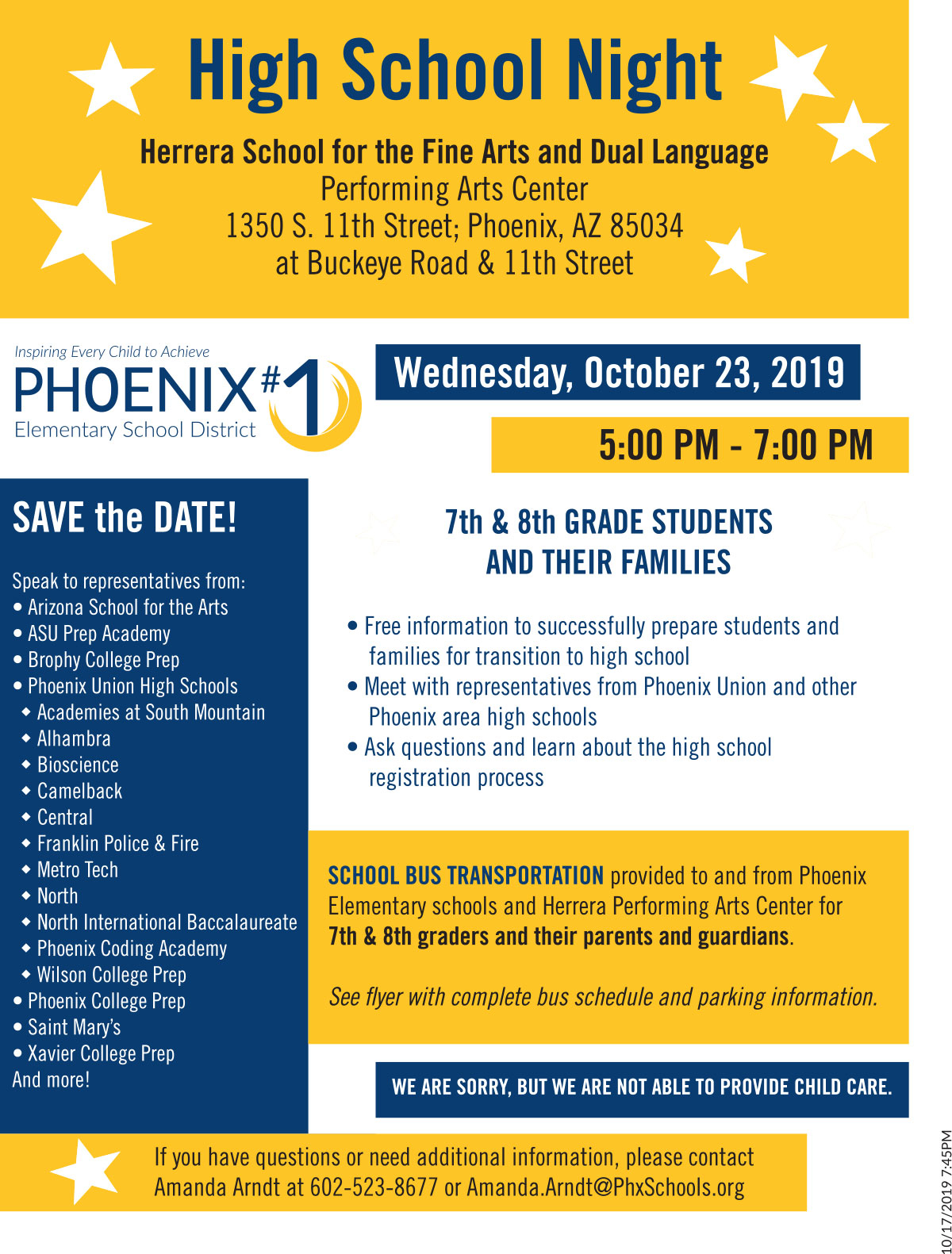 Phoenix Elementary School District #1 | Inspiring Every Regarding University Of Phoenix Schools Spring Break