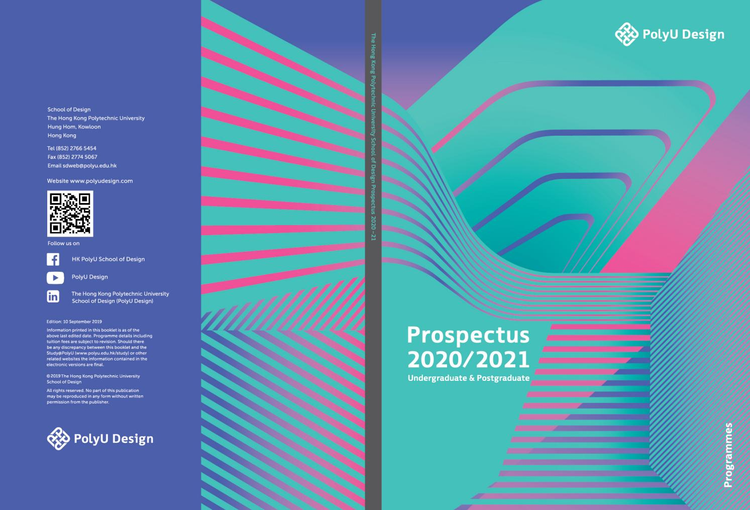 Polyu Design 2020/2021 Prospectus - Programmespolyu In University Of Glasgow Academic Calender 2021