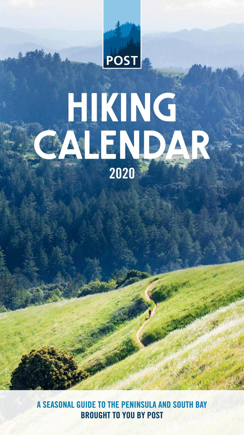 Post's Hiking Calendar - 2020Peninsula Open Space Trust Intended For Canyon Del Oro Calendar