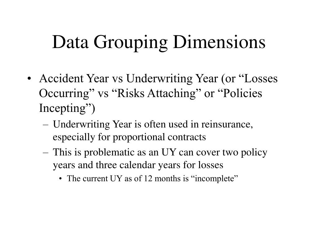 Ppt - Introduction To Reinsurance Reserving Powerpoint With Regard To Accident Year Vs Calendar Year
