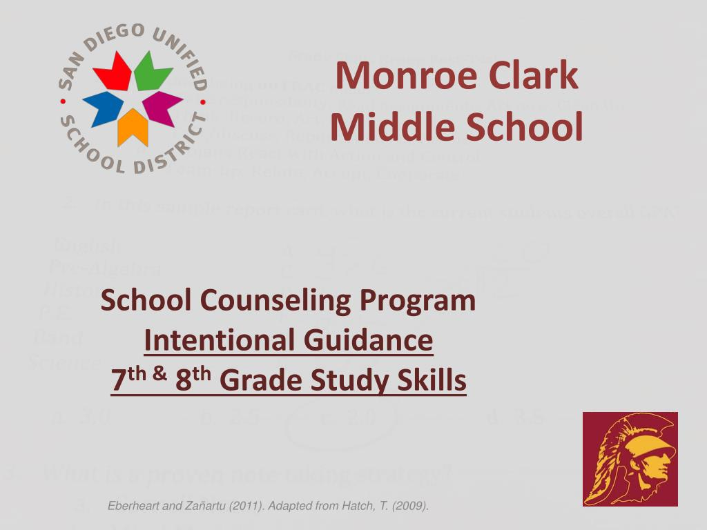 Ppt – Monroe Clark Middle School Powerpoint Presentation Intended For Monroe Clark Middle School Calendar