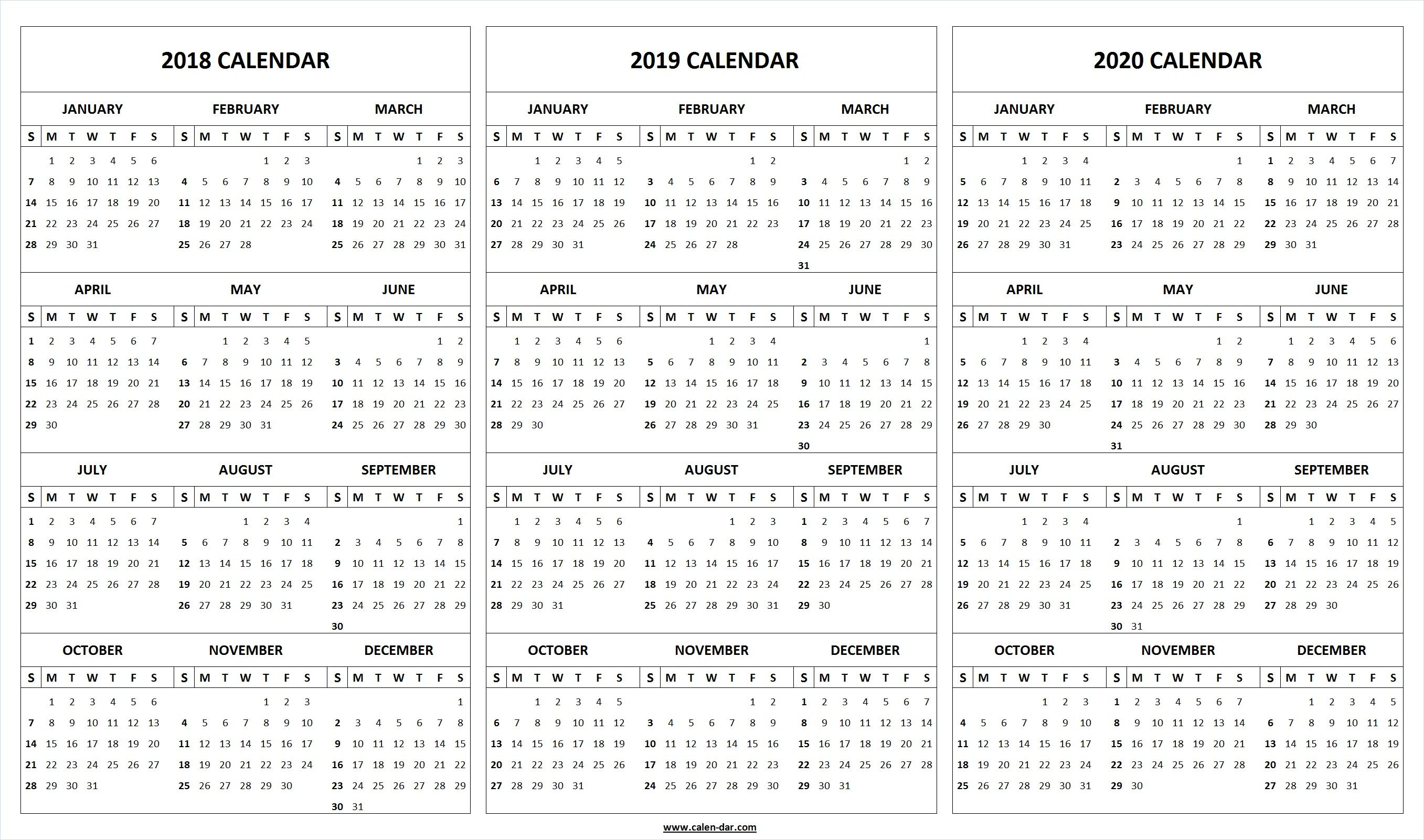 Printable 2018 2019 2020 Calendar Template (With Images Pertaining To Fall Tv Line Up 2021 2020 Printable