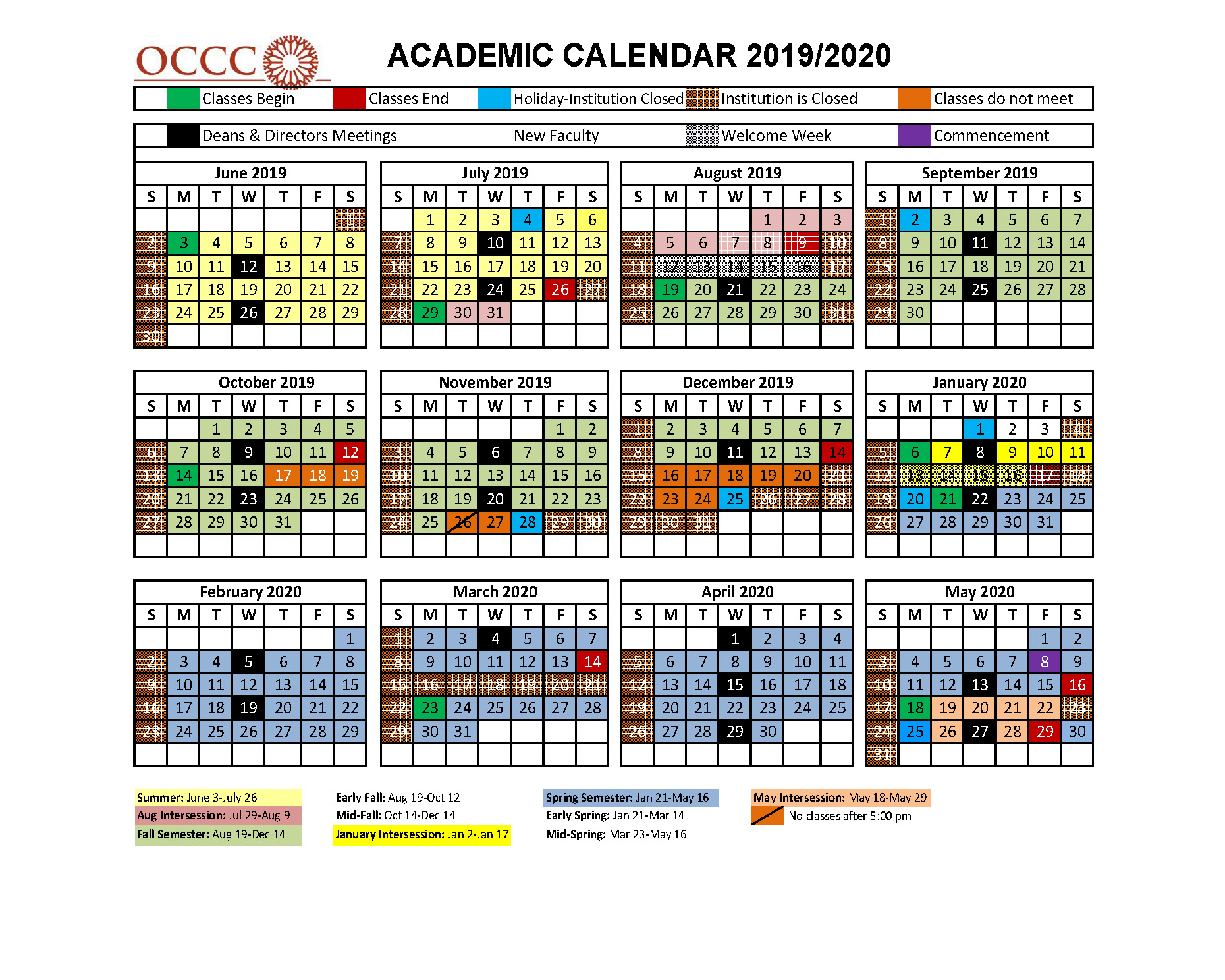 Programs Of Study For University Of Redlands Academic Calendar 2020