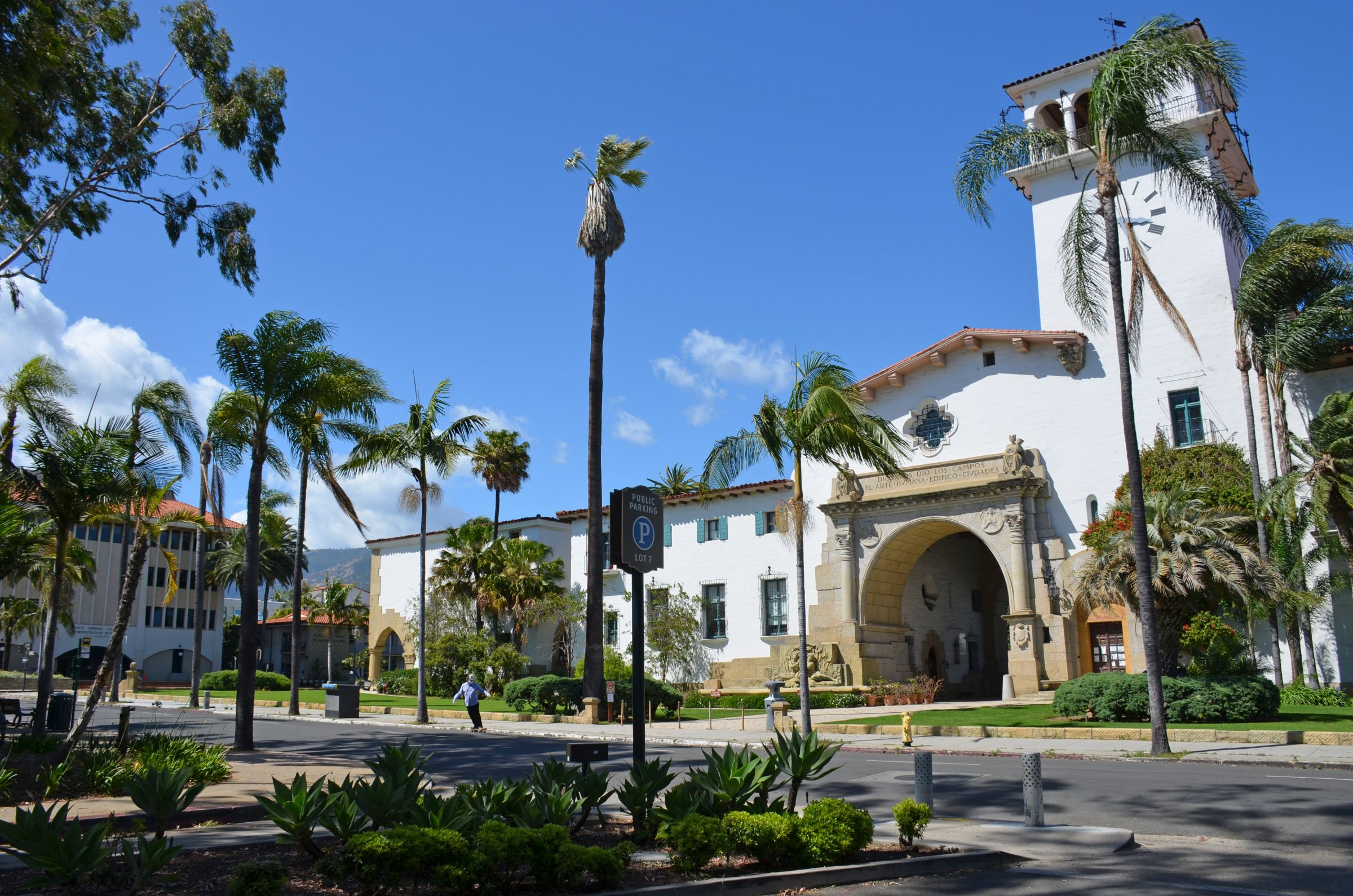 Public Health Says Santa Barbara County Meets State For Santa Barbara County Courthouse Calendar