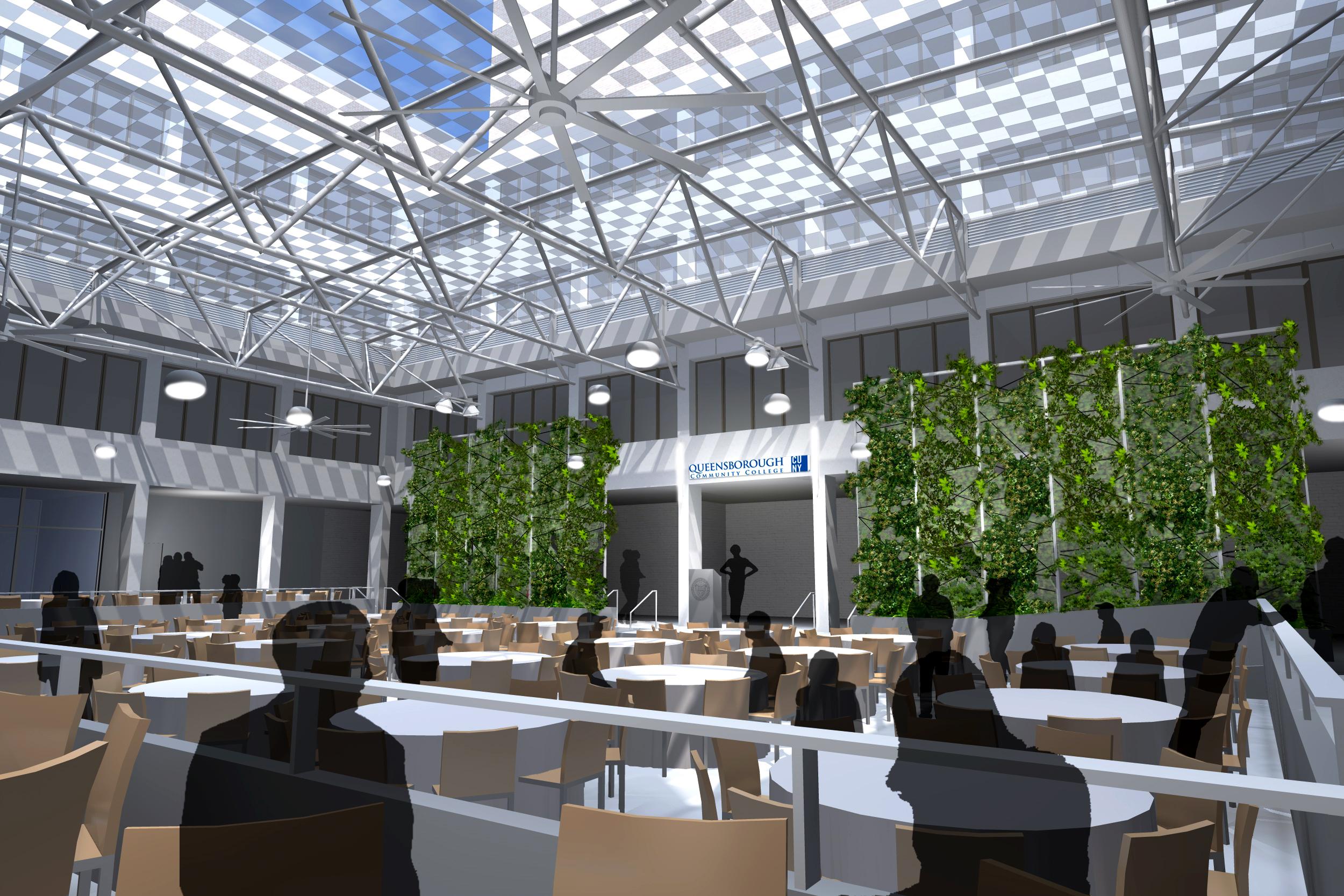 Queensborough Community College Science Building Atrium With Queensborough Community College School Scehdule