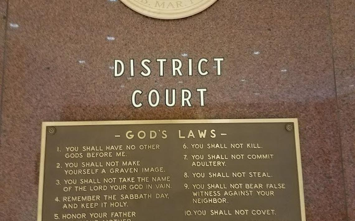 Removal Of Northern Minn. Courthouse Ten Commandments Plaque Throughout St. Louis County Court Mn Schedule