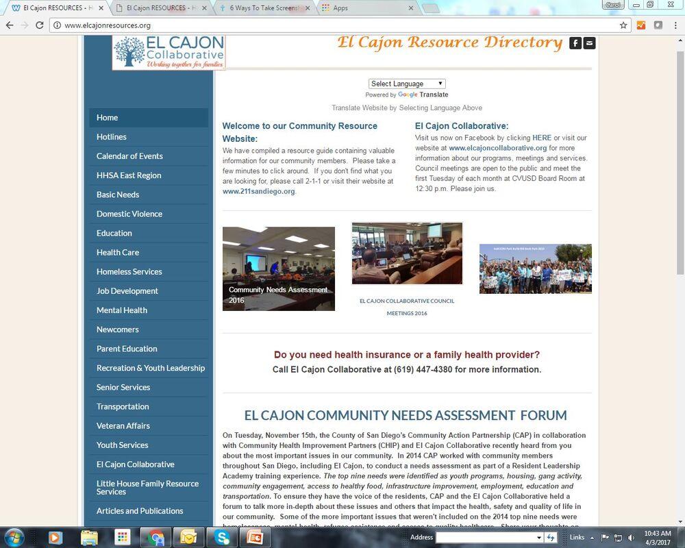 Resources – El Cajon Collaborative Within El Cajon School District Calendar