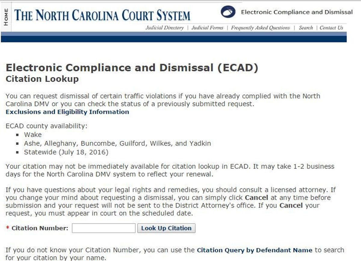 Rowan Da Rolls Out New System For Electronic Handling Of For Nc Court Dates By Defendant Name