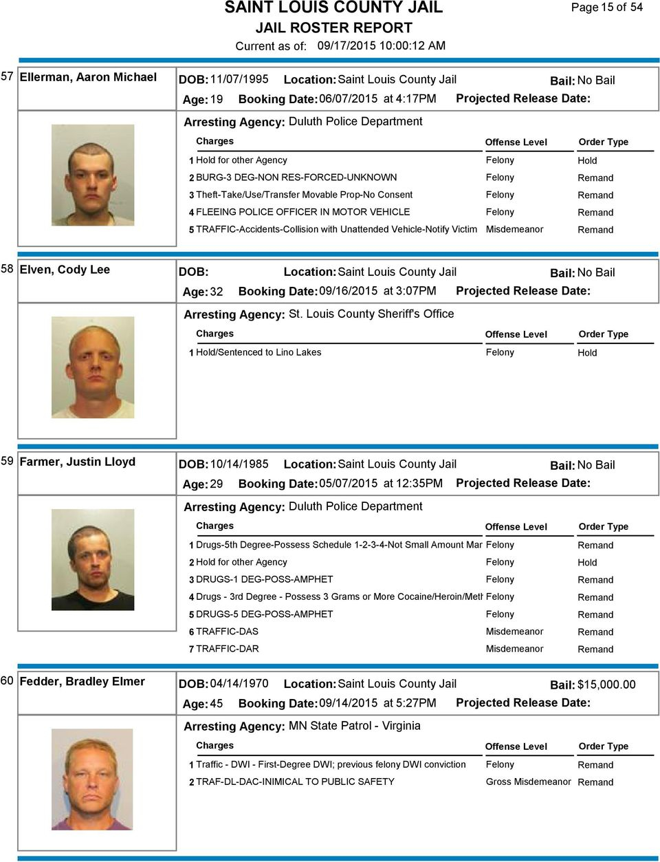 Saint Louis County Jail – Pdf Free Download For Sixth Judicial Circuit Calander St.louis County Hibbingmn