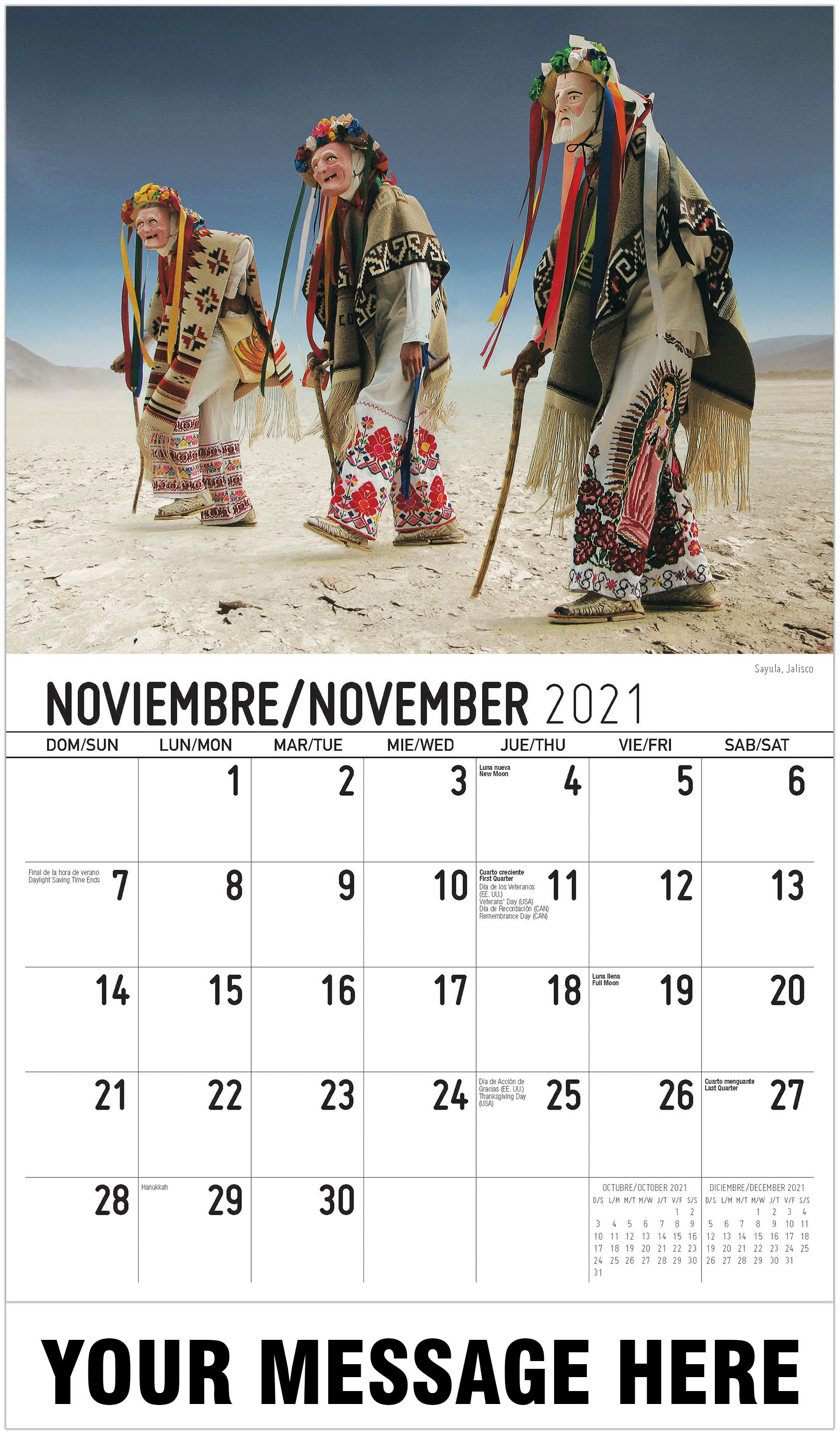 Scenes Of Mexico (Spanish English Bilingual) Pertaining To Mexican Calendar 2021 With St Names