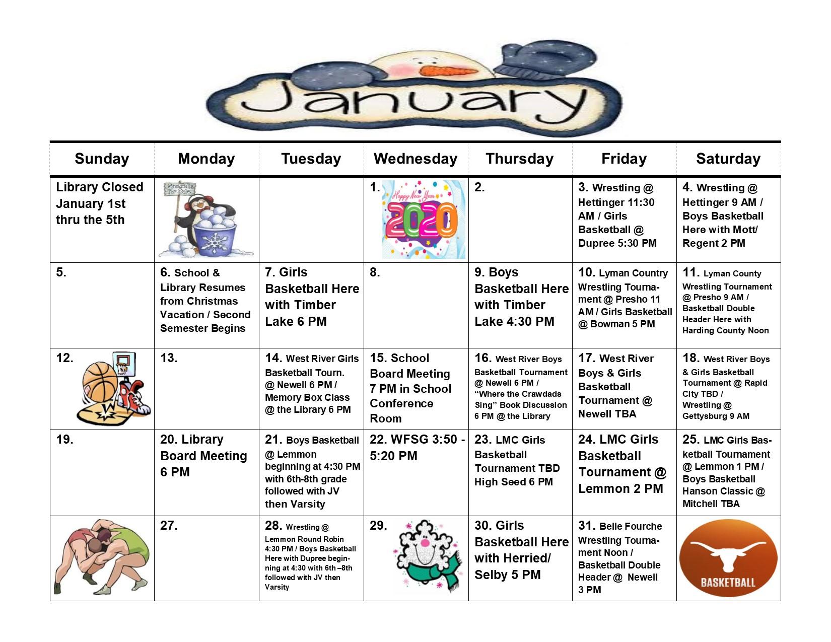 School Activities Calendar Regarding Rapid City School Calendar 2021