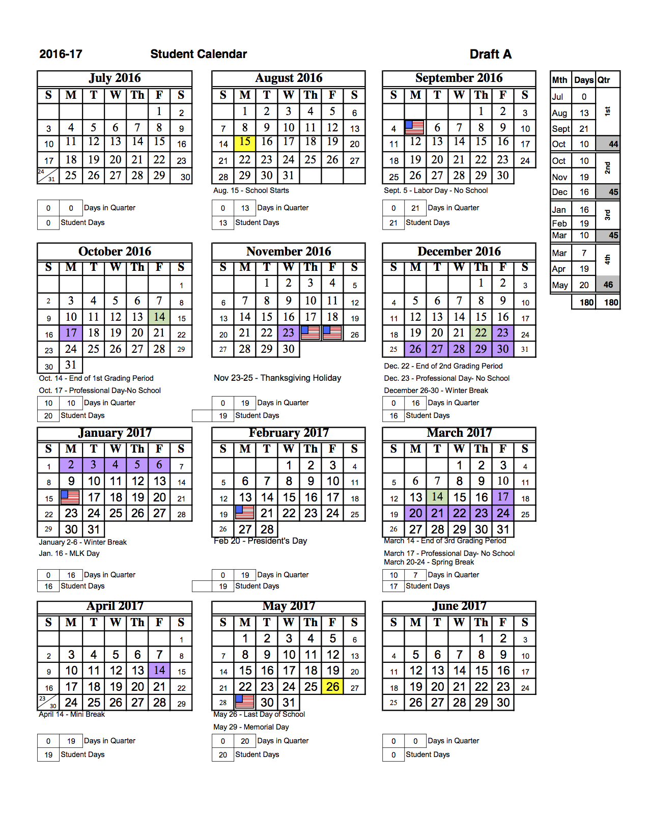 School Calendar | Coursework Sample March 2020 With Regard To Norco Unified School District Calendar