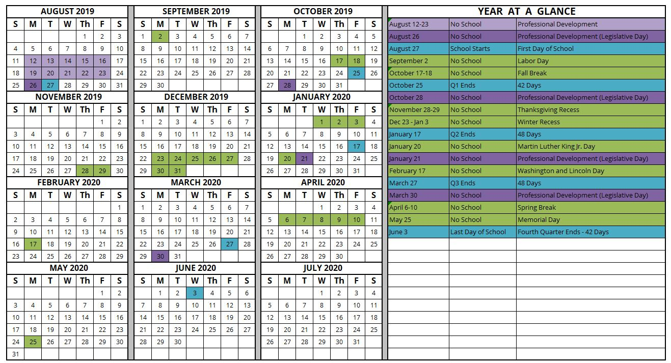 School Calendar | Mountain Heights With Weber County School Calendar 20
