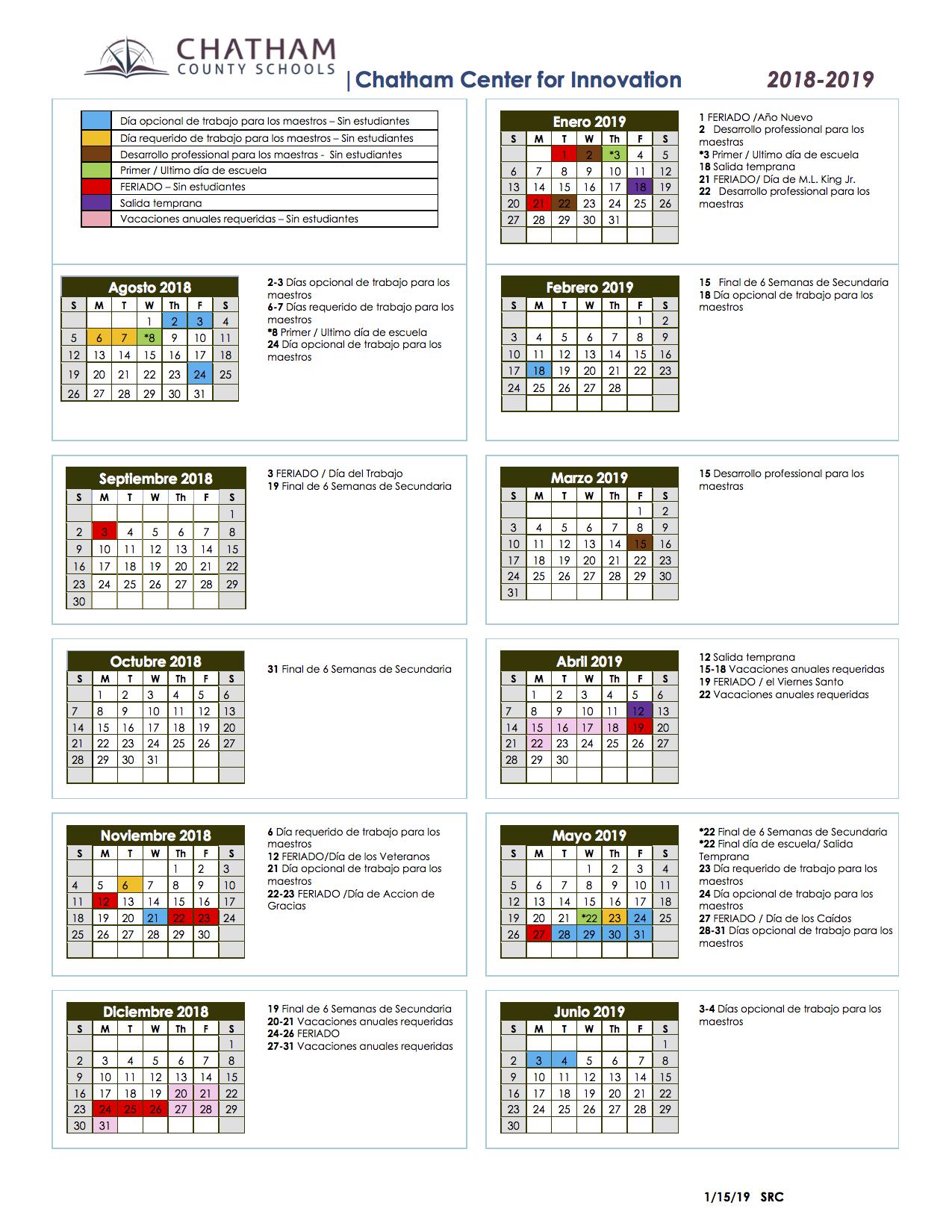 School Calendars / Sage Academy School Calendar Inside Johnston County Schools Nc Calendar