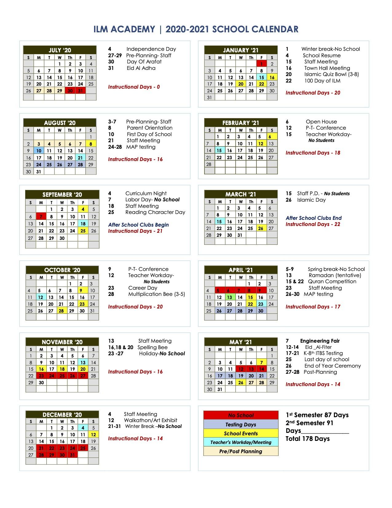 School Year Calendar - Ilm Academy Throughout Fayette County Georgia School Calendar 2021