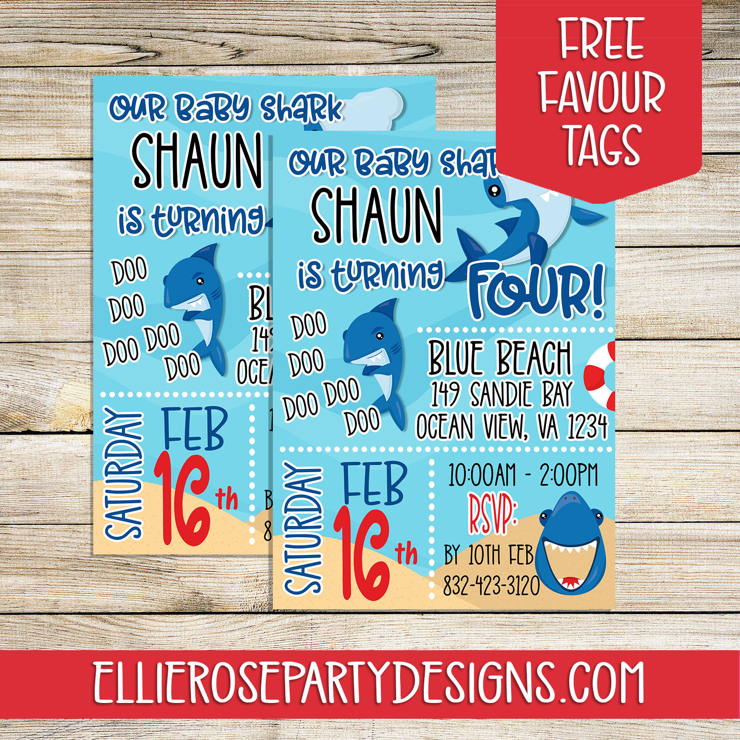Shark Birthday Invitation – Baby Shark Birthday Invitation – Shark Party  Invitation – Baby Shark Party Printables – Shark Party Ideas Inside Printable A Day Bday Schedule Virginia Beach