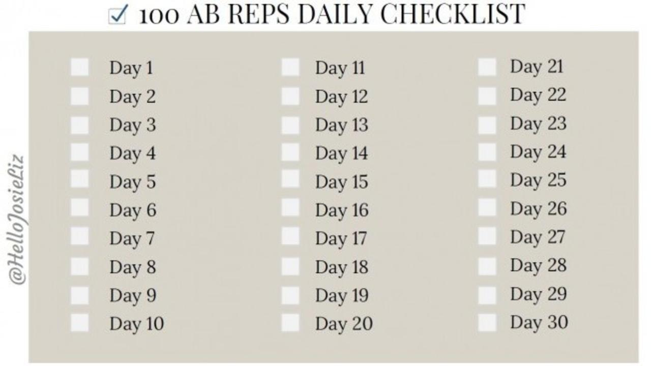 Sites/56139/video/tfvie8Ms7C2Jzfxudrva Free Printable For 30 Day Ab Challenge 100 Ab Reps Everyday.mp4 With 30 Day Ab Challenge Printable