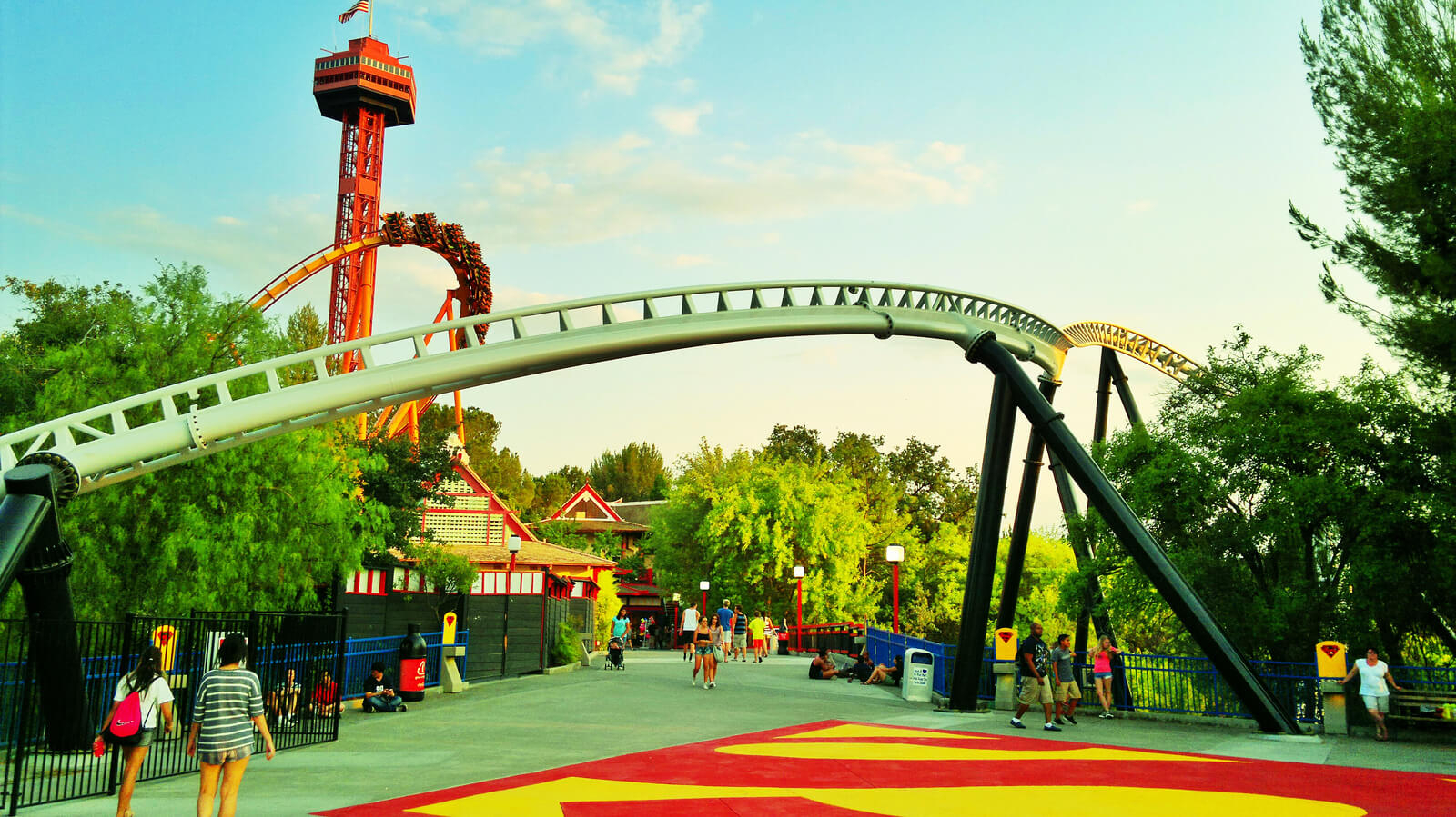 Six Flags Magic Mountain Crowds – Is It Packed? – Real Time Throughout Six Flags Over Georgia Calendar