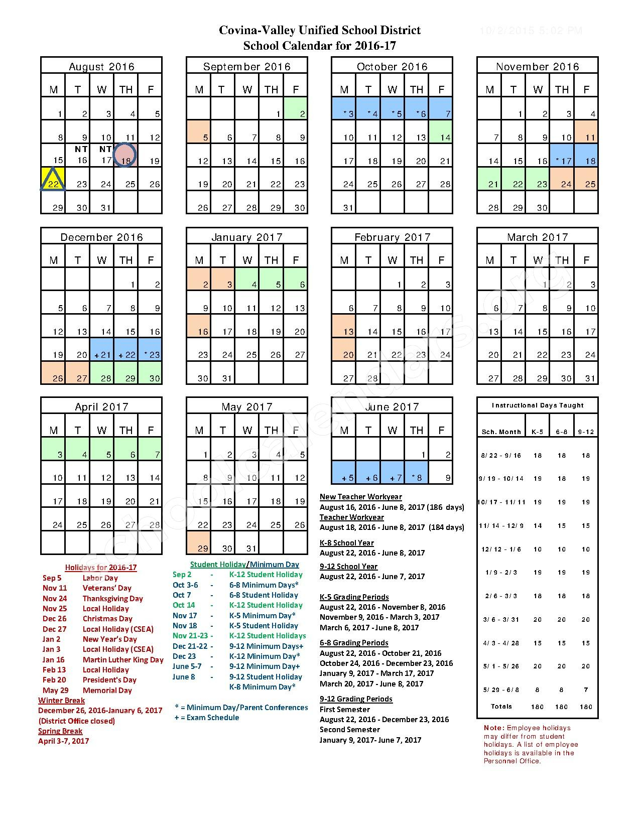 South Hills High School Calendars – West Covina, Ca Within West Hills High School Calendar