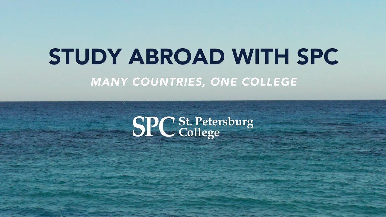 Spc Study Abroad Programs Taking Applications – Center For Intended For St Petersburg College Academic Calendar 2021