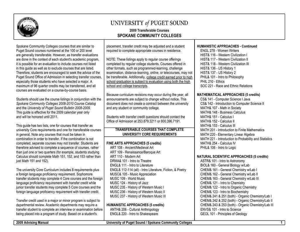 Spokane Community Colleges With Spokane Community College Calendar