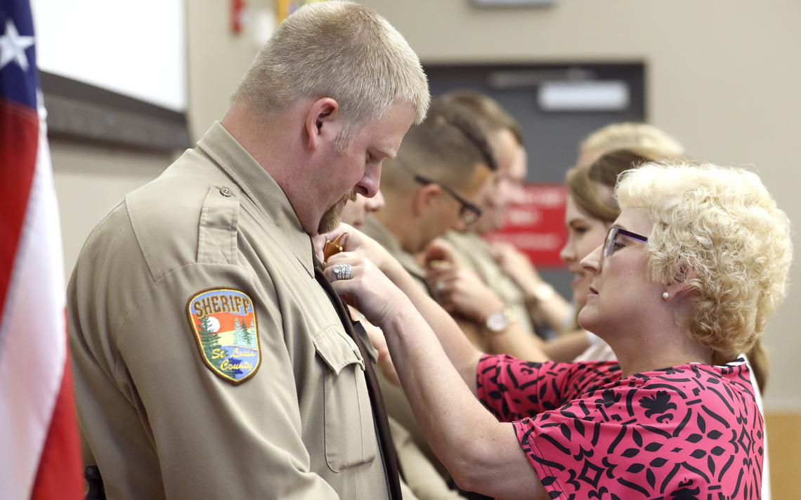St. Louis County Deputies Sworn In, Responders Commended Intended For St. Louis County Court Mn Schedule