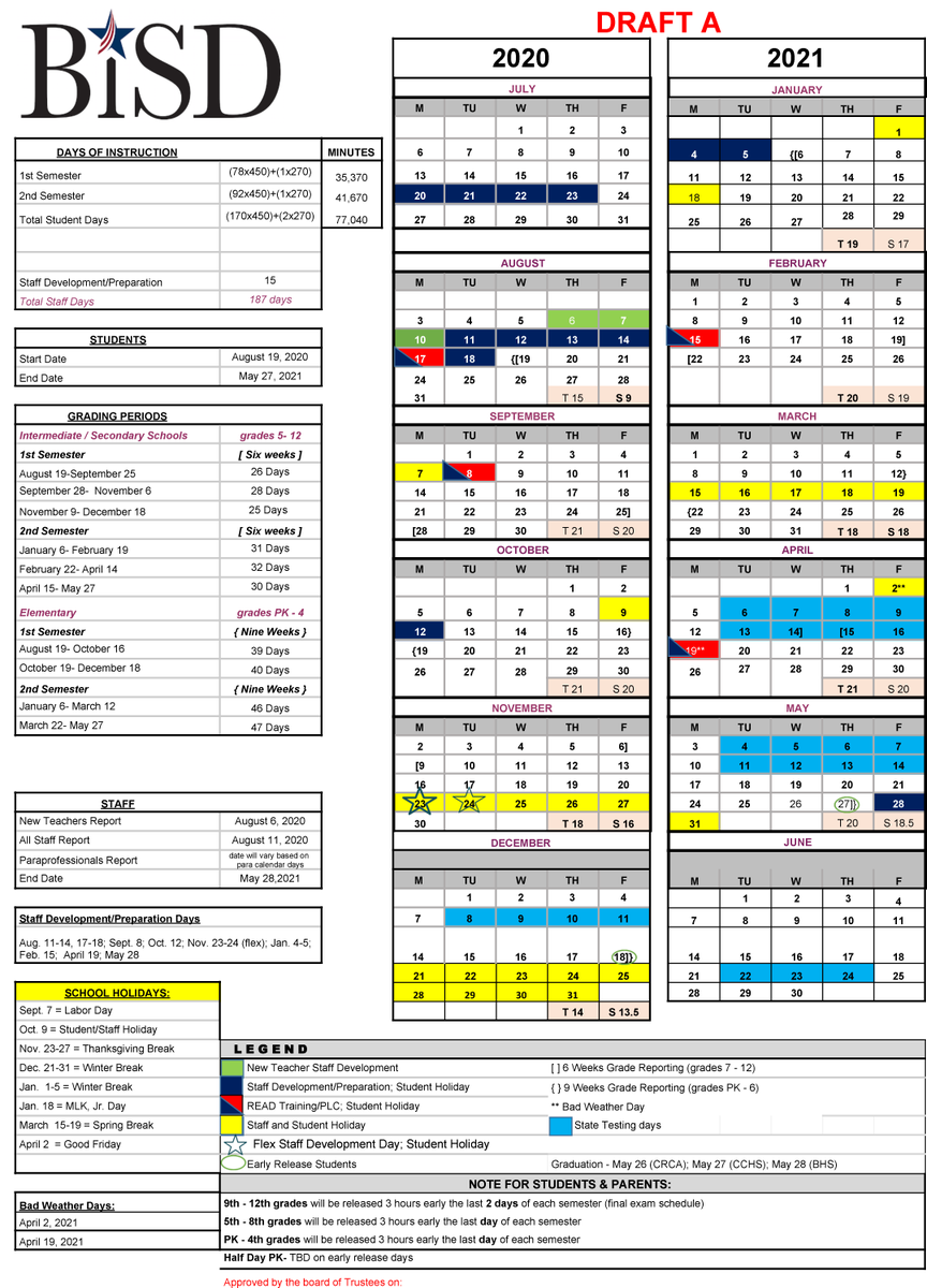 Stacy (@bastrop Lpe) | Twitter Pertaining To Brownsville Isd Calendar 2021