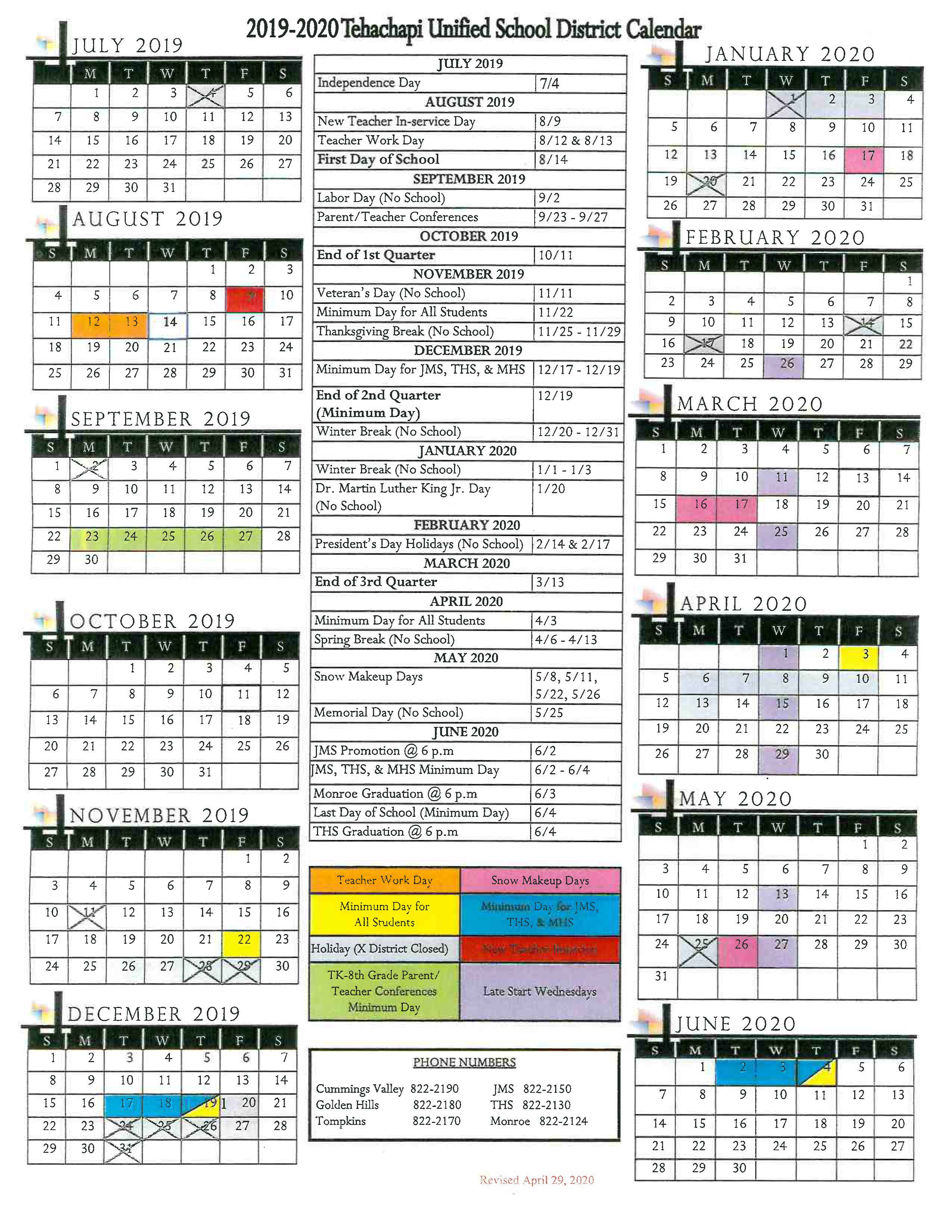 Student Attendance Calendar / Home For Morgan Hill Unified School Calendar